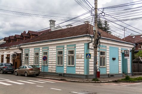 The Elie Wiesel Memorial House - The Museum of the Jewish Culture in Maramures, Sighetu Marmatiei, Romania
