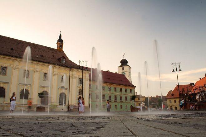 Big Square (Piata Mare), Sibiu, Romania