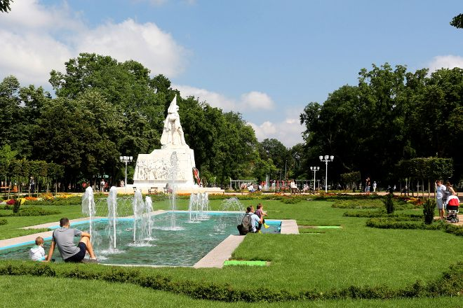 Central Park, Timisoara, Romania