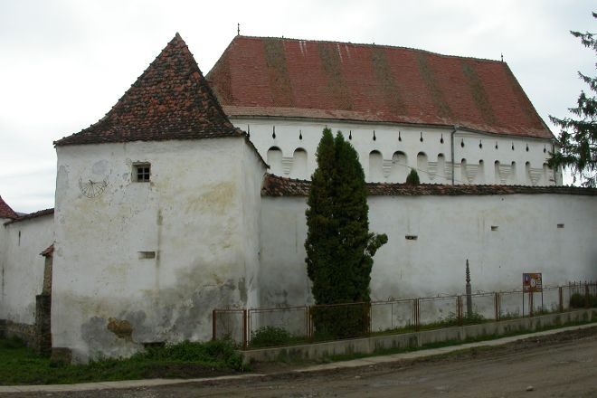Darjiu Fortified Church, Darjiu, Romania