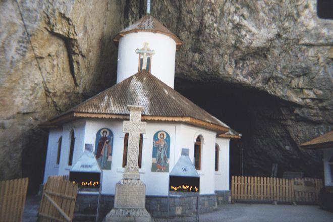 Ialomicioara Monastery and Cave, Sinaia, Romania