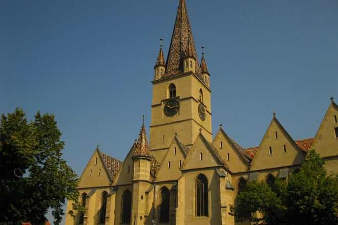 Lutheran Evangelical Cathedral & Tower, Sibiu, Romania