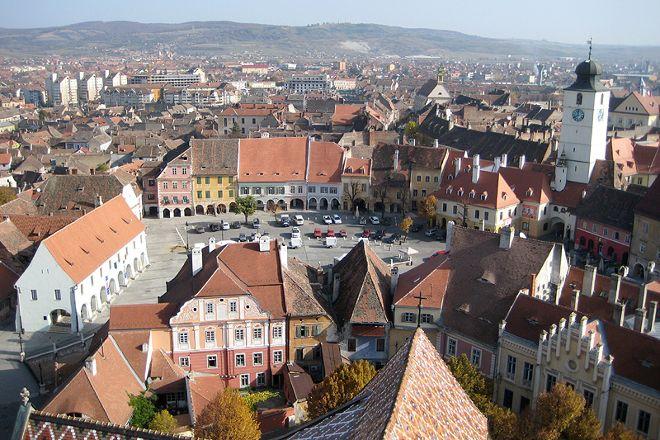 Medieval city of Sibiu, Sibiu, Romania