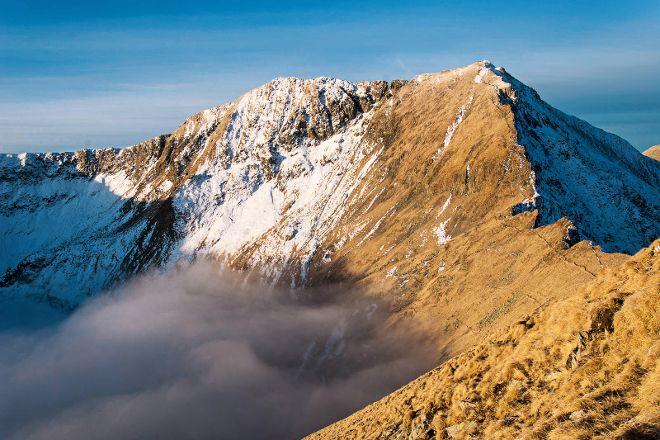 Moldoveanu Peak, Fagaras, Romania