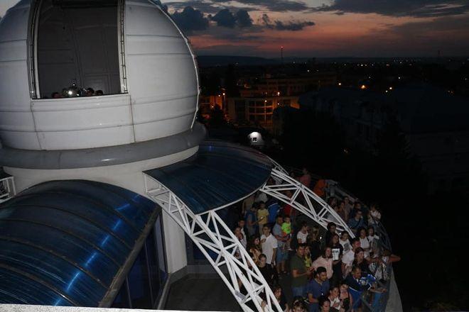Observatorul Astronomic Victor Anestin, Bacau, Romania