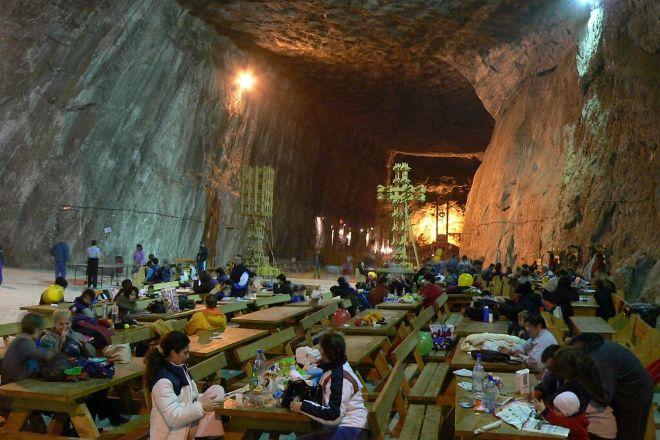 Salina Praid - Salt Mine, Praid, Romania