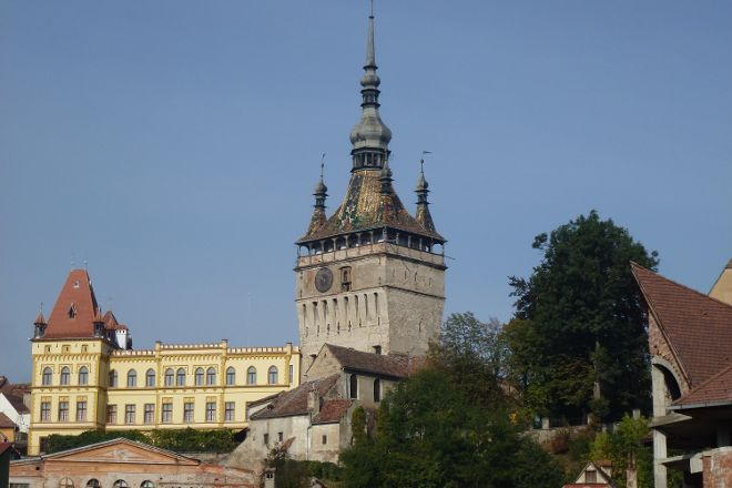 Sighisoara Clock Tower, Sighisoara, Romania