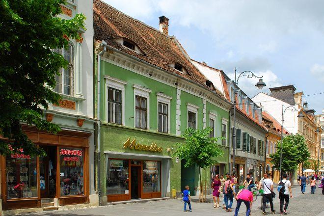 Strada Nicolae Balcescu, Sibiu, Romania
