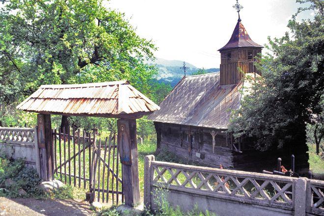 Surdesti Wooden Church, Surdesti, Romania