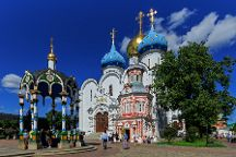Cathedral of the Assumption, Sergiyev Posad, Russia