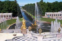 Grand Peterhof Palace and Gardens, Peterhof, Russia