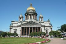 Isaakievskiy Square, St. Petersburg, Russia