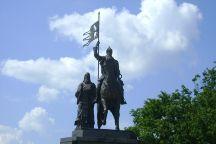 Monument to Prince Vladimir And Saint Fedor, Vladimir, Russia