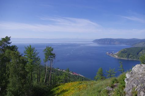 Lake Baikal, Siberian District, Russia