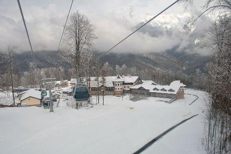 Rosa Khutor Ski Resort, Esto-Sadok, Russia