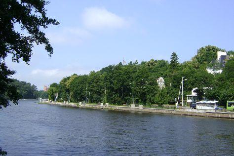 Tikhoye Lake, Svetlogorsk, Russia