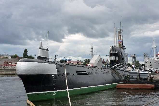 B-413 Submarine Museum, Kaliningrad, Russia