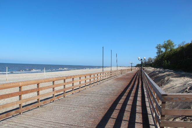 Beach Promenade, Yantarnyy, Russia