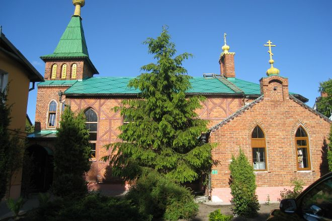 Church of St. Andrew, Zelenogradsk, Russia