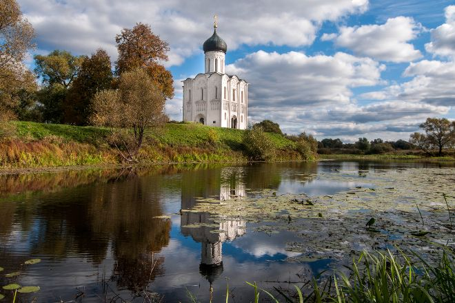 Church of the Intercession of the Holy Virgin, Bogolyubovo, Russia