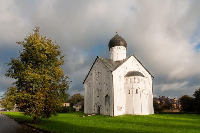 Church of the Savior's Transfiguration on Ilin Street, Veliky Novgorod, Russia
