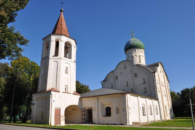 Church of Theodore Stratilates on the Brook, Veliky Novgorod, Russia