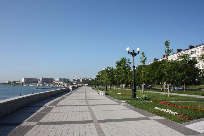 Embankment of Admiral Serebryakov, Novorossiysk, Russia