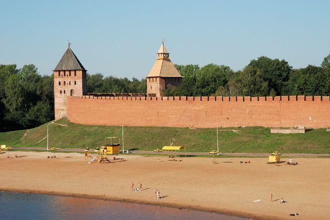 Kremlevskiy Beach, Veliky Novgorod, Russia