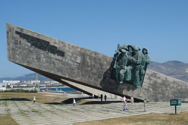 Malaya Zemlja V Novorossijske Memorial Complex, Novorossiysk, Russia