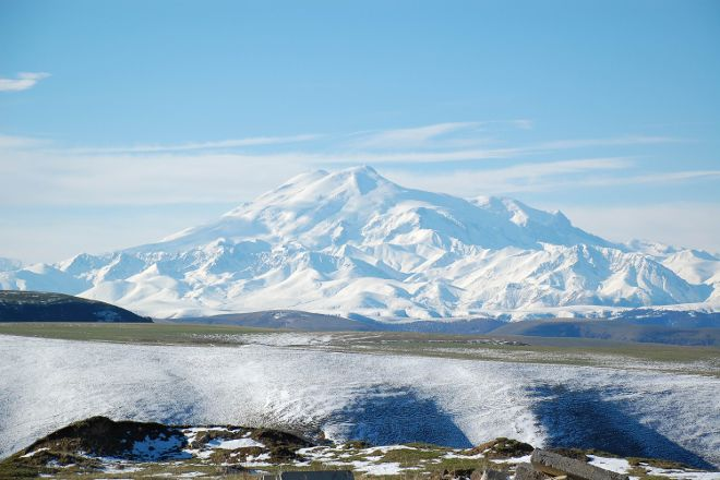 Mt. Elbrus, Baksan Valley, Russia