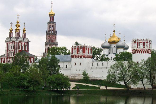 Tserkov' Uspeniya Presvyatoy Bogoroditsy V Novodevich'yem Monastyre, Moscow, Russia