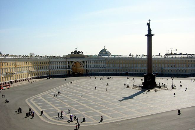 Palace Square, St. Petersburg, Russia