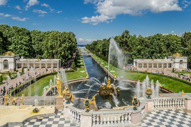Park And Gardens of Peterhof, Peterhof, Russia