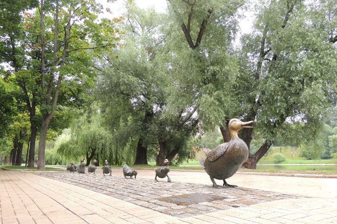 Park Novodevichi Prudy, Moscow, Russia