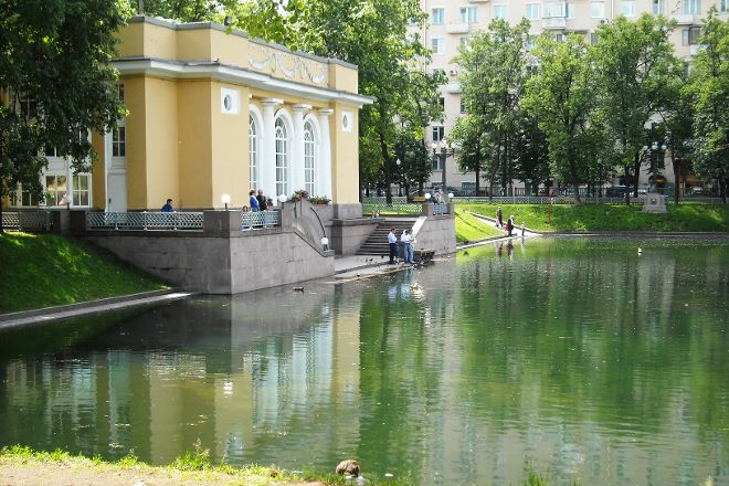Patriarch's Pond, Moscow, Russia