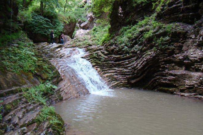 Rufabgo Waterfall, Kamennomostsky, Russia