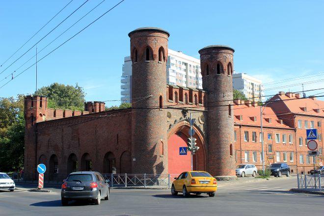 Sackheim Gate, Kaliningrad, Russia