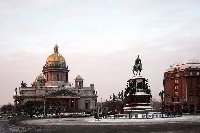 Saint Isaac's Square, St. Petersburg, Russia