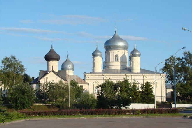 St. Basil's Cathedral, Veliky Novgorod, Russia