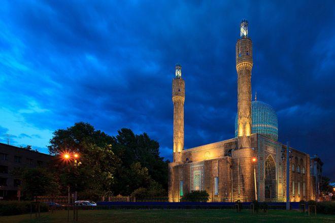 The Great Mosque of St. Petersburg, St. Petersburg, Russia