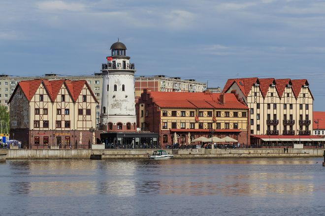 Viewing Tower Lighthouse, Kaliningrad, Russia