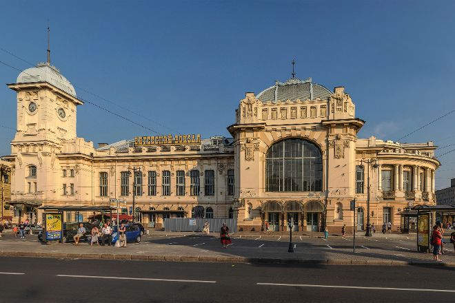 Vitebskiy Railway Station, St. Petersburg, Russia