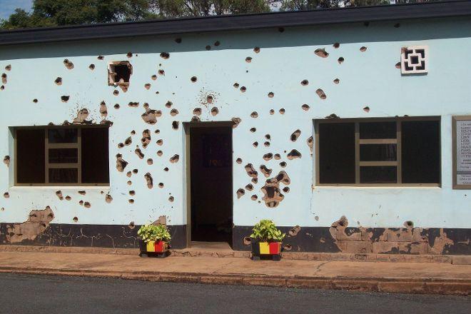 Belgian Peacekeepers Memorial, Kigali, Rwanda