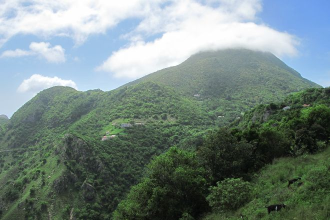 Mount Scenery, Windwardside, Saba