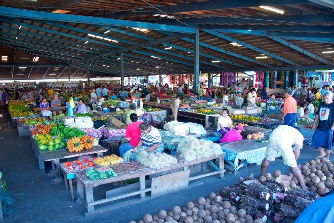 Old Apia Market, Apia, Samoa
