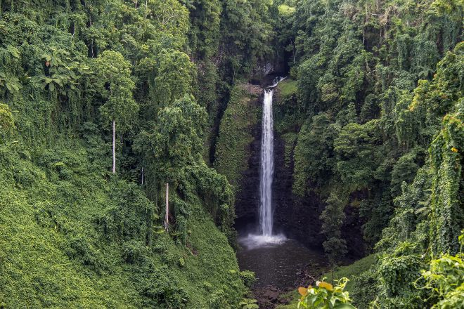 Sopoaga Falls, Upolu, Samoa