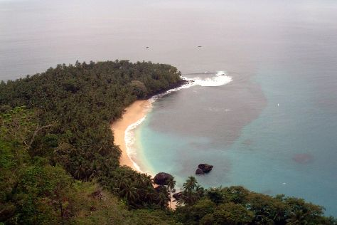 Banana Beach, Principe, Sao Tome and Principe