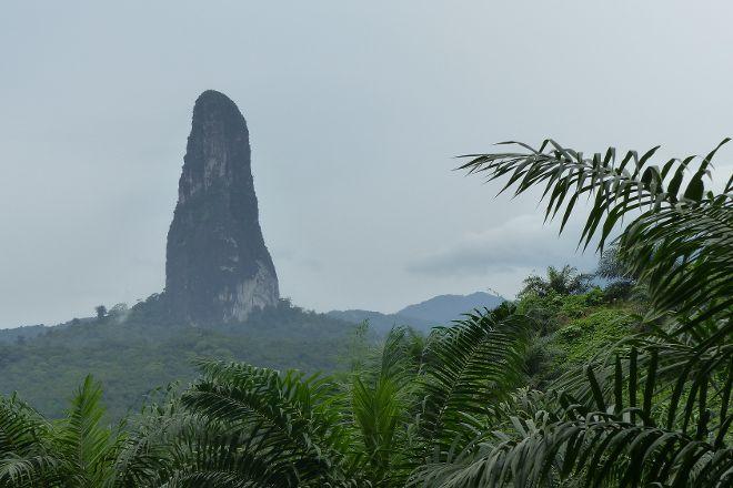 Pico de Sao Tome, Sao Tome Island, Sao Tome and Principe