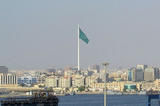 Jeddah Flagpole, Jeddah, Saudi Arabia