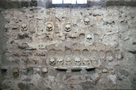 Skull Tower, Nis, Serbia